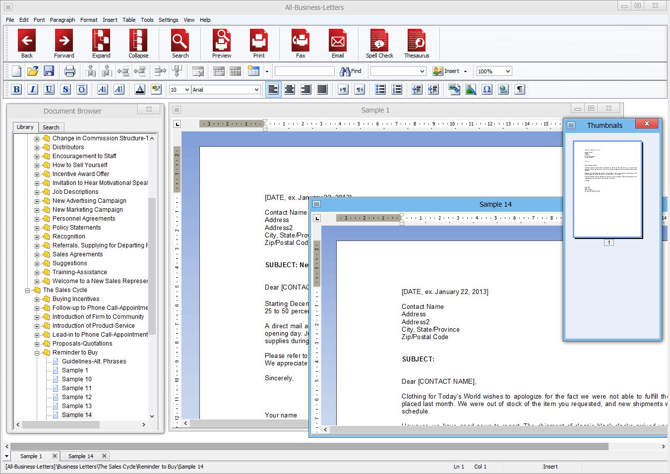 All-Business-Letters for Windows 6.3.0.2